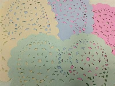 Салфетки декоративные в форме сердечка, цвет в ассортименте, 1 шт. - фото 5500