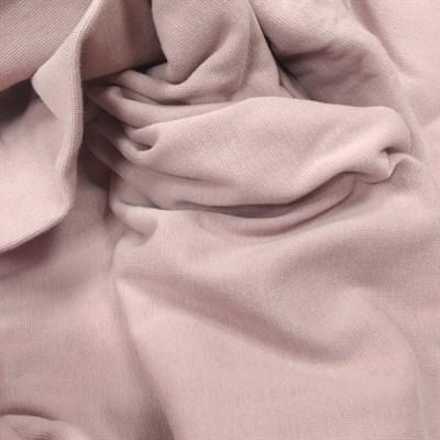Отрез ткани Рибана цвет пыльный розовый, 45*50 см - фото 7252