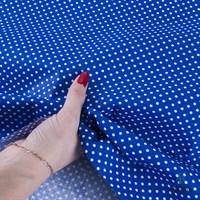 Отрез ткани бязь плательная 50*50 см 1590/21 цвет василек
