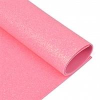 Фоамиран глиттерный Magic 4 Hobby 2 мм арт.MG.GLIT.H040 , цв.розовый, 20х30 см