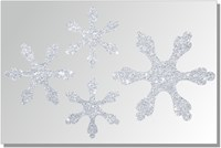 Термонаклейки Снежинки цветные, 1 шт.  ТА-009