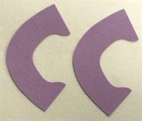 Набор для создания кукольных туфелек ТМ Сама сшила (верхняя часть) , цвет сиреневый бархат