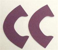 Набор для создания кукольных туфелек ТМ Сама сшила (верхняя часть) , цвет темно-сиреневый бархат