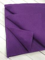 Фетр мягкий размер 20х30 см, толщина 1 мм цвет чернильный, 1 шт.