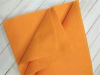 Фетр мягкий размер 20х30 см, толщина 1 мм цвет оранжевый, 1 шт.