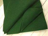 Фетр мягкий размер 20х30 см, толщина 1 мм цвет темно-зеленый, 1 шт.