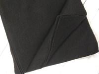 Фетр мягкий размер 20х30 см, толщина 1 мм цвет черный, 1 шт.