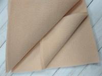 Фетр мягкий размер 20х30 см, толщина 1 мм цвет нежно-персиковый, 1 шт.
