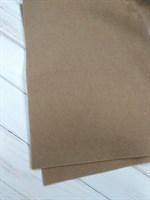 Фетр мягкий ТМ IDEAL размер 20х30 см, толщина 1 мм цвет темно-бежевый, 1 шт.