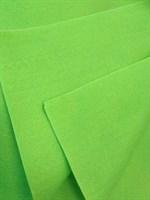 Фетр мягкий размер 30х30 см, толщина 1 мм цвет неоновый салатовый, 1 шт.