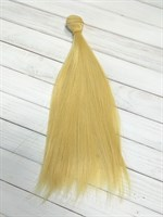 Трессы кукольные, длина 25 см, ширина 100 см, цвет золотистый блондин, 1 шт.
