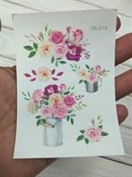 Термоналейка Розы 2, 7х10 см, 1 лист