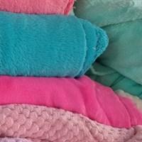 Обрезки велсофта, бебисофта, флиса, цвет яркий ассорти, 100 гр