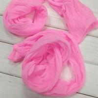 Капрон для кукол и цветов, 60-100 см, цвет ярко-розовый, 1 шт.