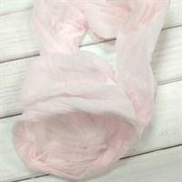 Капрон для кукол и цветов, 60-100 см, цвет нежно-розовый, 1 шт.